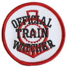 Patch- OFFICIAL TRAIN WATCHER  #22214 - NEW