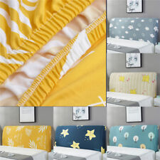Headboard Cover Stretchy Bed Head Slipcover Protector Covers For Home Dust Proof