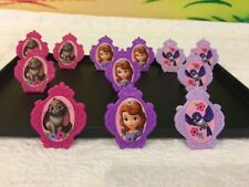 DecoPac Disney Sofia Rings Cupcakes Decoration Toppers  Figurine Pick 12pcs Kit