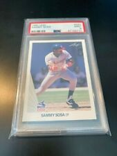 1990 LEAF SAMMY SOSA RC ROOKIE #220 PSA 9 MINT CUBS