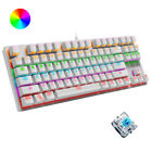 Wired Mechanical Gaming Keyboard Blue Switch Chroma RGB Backlit for Game or work