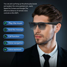 More details for wireless audio glasses bt5.0 hands-free sunglasses compatible with smartphones