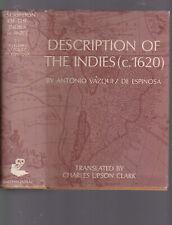 Description of the Indies (C. 1620) by Antonio Vazquez de Espinosa, 1968 repr