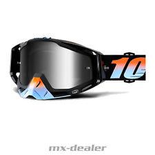 100% RACECRAFT ESPEJO STARLIGHT Motocross MX Cruz Gafas MTB 2018
