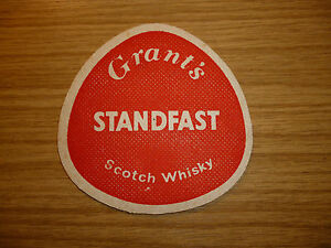 Grant's Whisky - 1960's / 1970's beer mat
