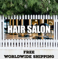 Banner Vinyl Hair Salon Advertising Sign Flag Stylish Hair Cut Comb Barber Shop