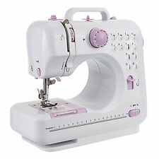 220V Mini Portable 12 Electric Sewing Machines Sewing Tools Overlock Gift