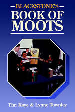 Blackstone's Book Of Moots, Acceptable, Kaye, Tim, Book