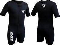 RDX Combinaison Sudation Survetement Costume De Sauna Sweat Suit Perte Poids FR