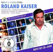 ROLAND KAISER - MUSIC & VIDEO STARS 2 CD NEU