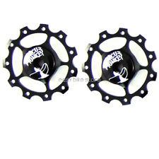 2PC Wheel for Rear Derailleur 11T BLACK BIKE ROAD MTB - CIRCUS MONKEY