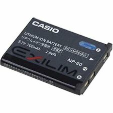 Brand New Genuine Casio NP-80 Exilim Li-Ion Rechargeable Battery