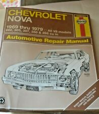 Haynes Repair Manual for 1969-1979 Chevrolet Nova - New Sealed