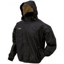 Frogg Toggs PS63172-01 Bull Frogg Jacket Black Large New