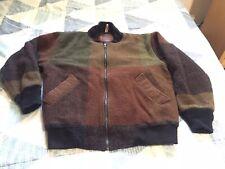 Woolrich Wool Bomber Jacket Vintage Mens