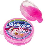 Caca de licorne ! pâte à prout rose, slime, jouet REPUGNANT unicorn poo putty