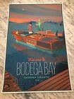 Laurent Durieux The Birds Movie Poster Bodega Bay Print - VINTAGE VARIANT LE 50