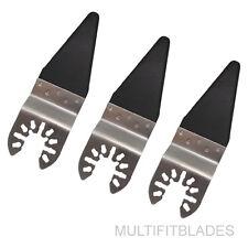 3 x Flush Cut Quick Release Oscillating Tool Sealant Cutter-DeWalt, Porter Cable
