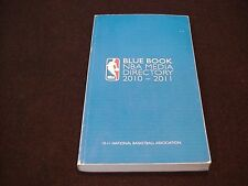 2010-11 Blue Book - NBA Basketball Media Directory