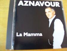 CHARLES AZNAVOUR LA MAMMA  CD RARISSIMO IN ITALIANO
