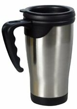 STAINLESS STEEL TRAVEL MUG IDEAL FOR CAMPING, WORK AND GENERAL USE  SSF400