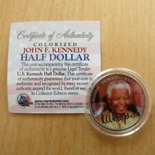 Nelson Mandela JFK Half Dollar Coin President of South Africa 1994-1999 USA