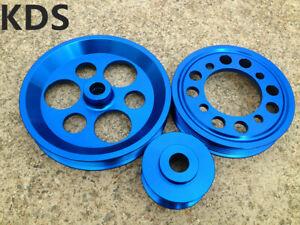 Lightweight pulley for GS300 CS300 Toyota Supra JZA80 1JZ 2JZ 2JZGE 2JZGTE Blue