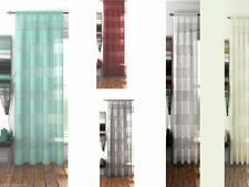 Striped Net Curtains