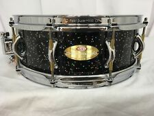 "Pearl Masterworks Custom 14"" Dia. X 5"" Deep Snare Drum/Eric Singer Comet Sparkle"
