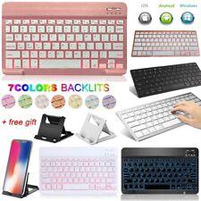 For Samsung Galaxy Tab A E S5e T510 T580 T720 T590 Bluetooth Keyboard W/ Stand