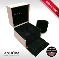 Genuine PANDORA LIMITED EDITION Luxury Purple Large Multi-Tier Jewellery Box NEW