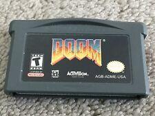Gameboy Advance - Doom - Genuine - Rare Game