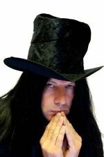 New Undertaker/Ghost Town/Halloween Themed Fancy Dress Top Hat With Attached Wig