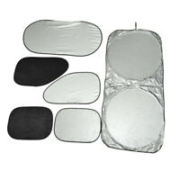6 in 1 Side Window Glass Sun Shade Cover Sunshade UV Protection Curtain for Car