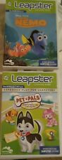 2 Leapster Games Pet Pals And Finding Nemo. Pre K-1st Grade