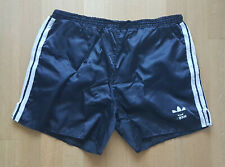 ADIDAS Glanz Nylon Shorts Sporthose D9 Sampdoria Laufhose Retro schwarz Fußball