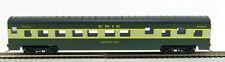 HO 72 Ft Pass. Pullman Sleeper, RTR Erie (Green/Cream) (1-980H)