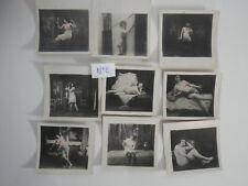 9 photos ancienne de nus feminins  artistique lot N°2