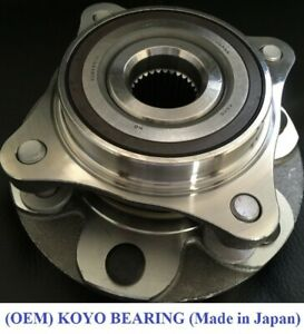 Front Wheel Hub & KOYO Bearing Complete Assembly FOR 2003-2009 LEXUS GX470 4WD