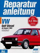 VW Golf II Diesel Turbodiesel GTD Carat TD Reparaturanleitung Reparaturbuch