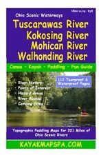 Ohio Kayak and Canoe Mapbooks for Paddlers & Anglers.