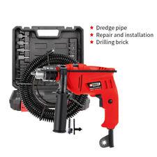 Power Pipe Sink Dredge Toilet Pressure Drain Plumbing Clean Drill & Repair Tool