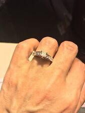 princess cut diamond engagement ring white gold