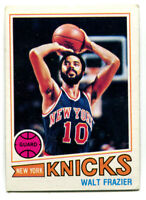 1977-78 Topps NBA Walt Frazier Card #129 New York Knicks Southern Illinois