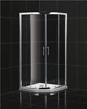 Quadrant Shower Cubicle Low Height  1750 high 800 x 800mm  Loft Caravan /Tray