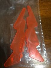 New Jem And The Holograms Star Stage Lightening Bolt x2 Truly Outrageous Orange