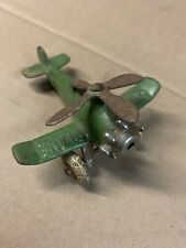 Vintage 1930s Hubley Cast Iron Airplane