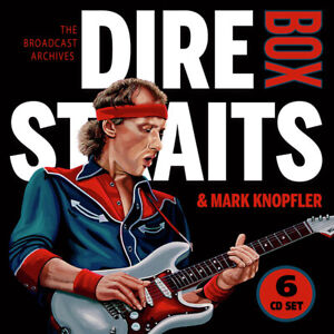 ID72p-Pre-order NOW!-DIRE STRAITS  MARK KNOPFLER-BOX 6-CD SET-CDB