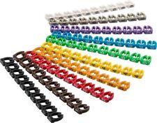 Kabelmarker-Clips ''Ziffern 0-9'', für Kabeldurchmesser bis 6 mm; Kabelmarker-Cl