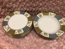 Sango China Andante 3760 3 Rimmed Bowls + 7 Salad Plates
